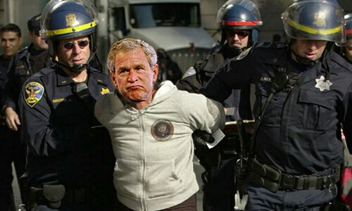 bush arrested
