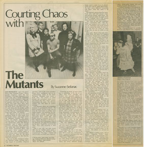 the mutants in Bay Area Magazine