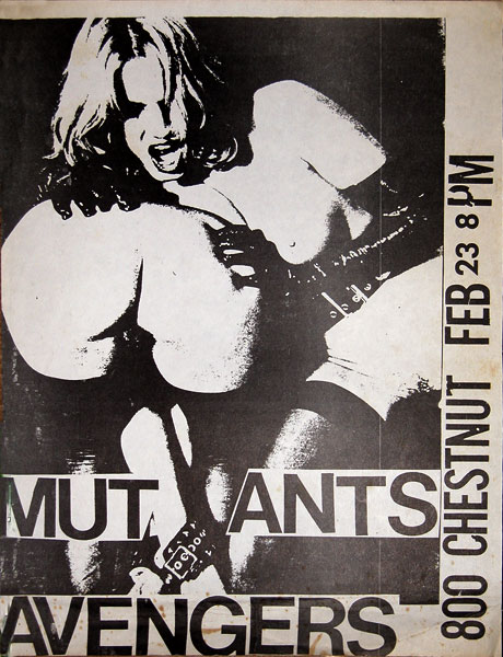 The Mutants at the San Francisco Art Institute