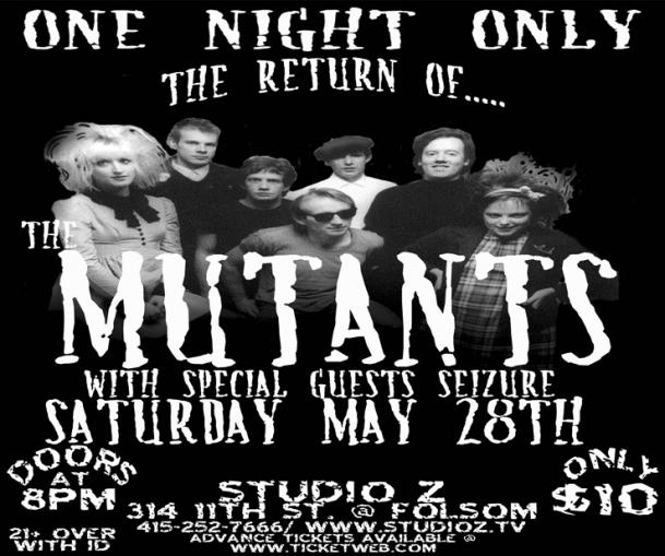 the mutants at studio z